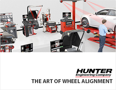 Hunter Laser Wheel Alignment